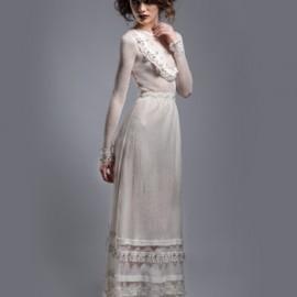 Les essayages de la robe