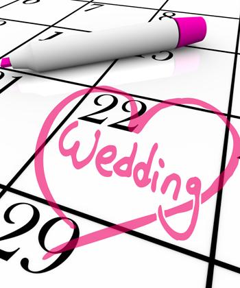 Je prépare mon Rétroplanning de mariage !