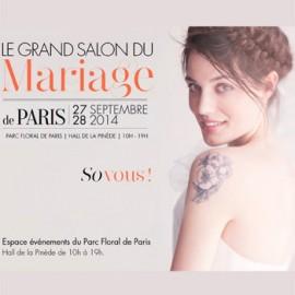 Direction Le Grand Salon du Mariage !