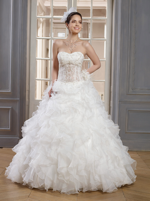 robe de mariee de point mariage - Point Mariage Herblay