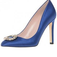 Chaussures Mariée Sarah Jessica Parker - Angelica in Skyline - $545