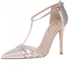 Chaussures Mariée Sarah Jessica Parker - Carrie in Moonstone - $355
