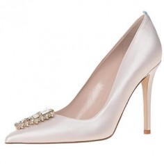 Chaussures Mariée Sarah Jessica Parker  - Tempest in Moonstone - $545
